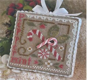 All Dolled Up! - Peppermint Twist, Little House Needlework