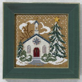 18527 MH146302 Country Church (Xmas Village), Mill Hill Beads