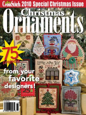 2010 Just Crosstitch Ornaments