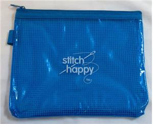 STH-Sh637 - Stitch Happy Zippy Pouch - Blue