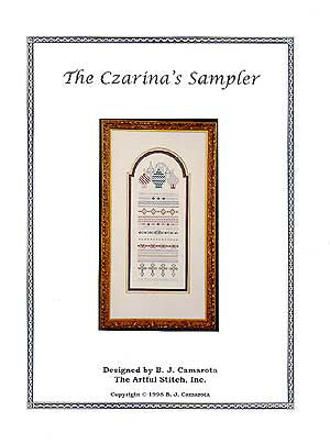 "Czarina""s Sampler, The Artful Stitch"