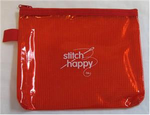 STH-Sh637 Stitch Happy Zippy Pouch - Red