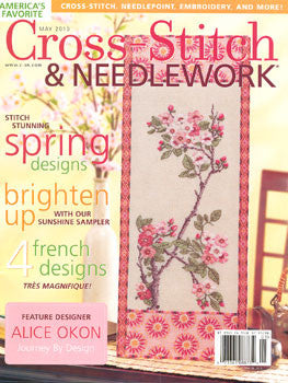May 2010, Cross Stitch & Needlework, Magazine