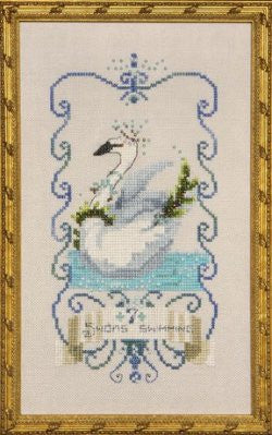 Seven Swans A Swimming, 12 Days of Christmas, Nora Corbett, Mira