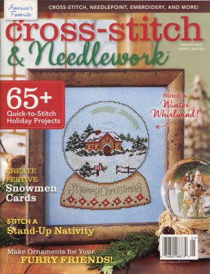 Holiday 2015 Cross-Stitch & Needlework