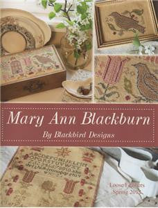Mary Ann Blackburn-Part 1 of Loose Feathers