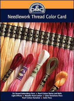 Needlework Thread Color Card