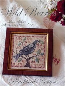 Wild Berries, Loose Feathers, Blackbird Design