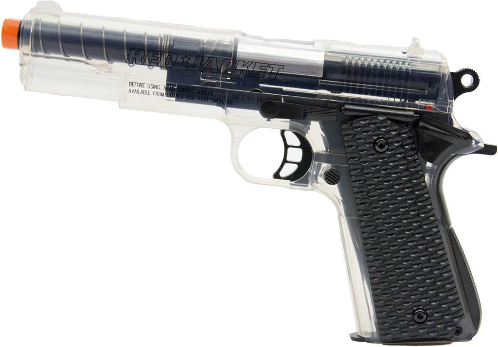 Pistola Red Jacket 1911 Transparente - Sportsguns