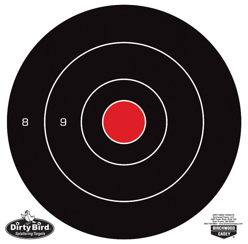"Blanco Birchwood Casey Dirty Bird Bull´s Eye 8"" - Sportsguns"