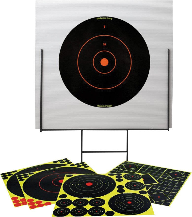 Kit de Blancos Birchwood Casey Shoot-N-C Portable con Base Metálica - Sportsguns