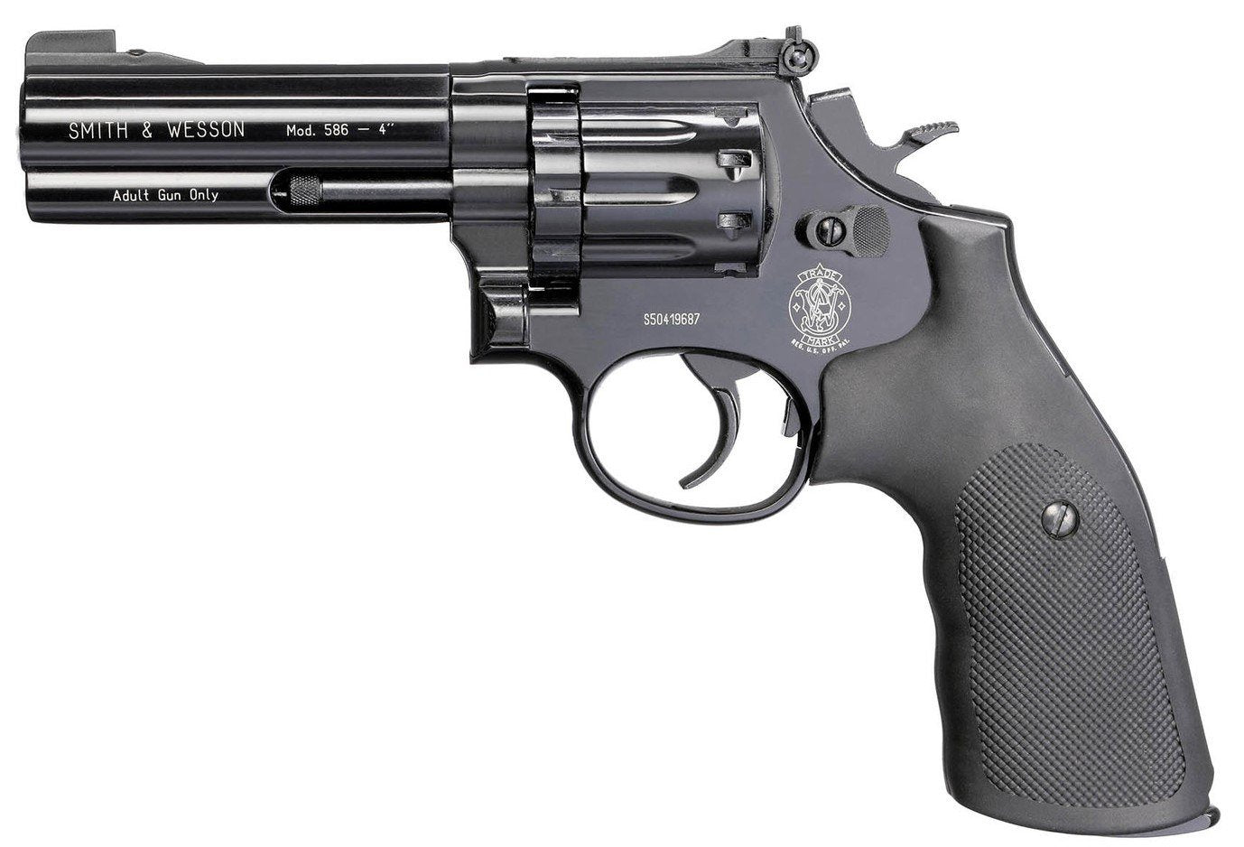 Revólver CO2 Smith & Wesson 586 - Full Metal - Sportsguns