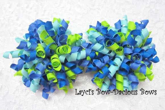 korker hair bows, set of 2 korkers