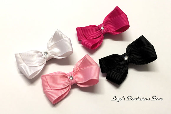 classic hair bows in over 100 colors