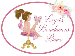 laycis bowdacious bows, girls hair bows, baby bows