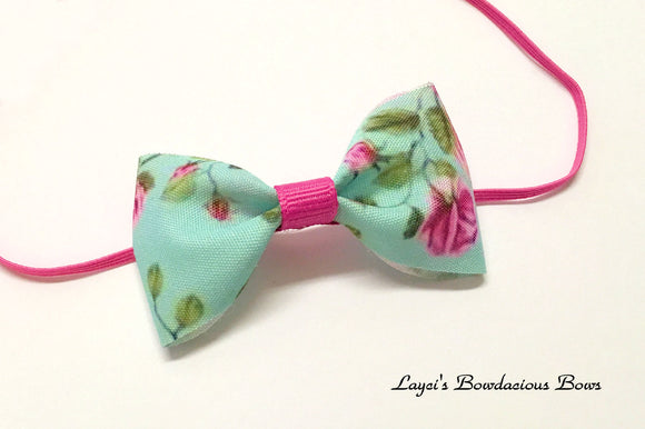 easter bow headband