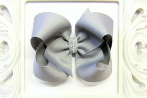 Millenium Silver Boutique Hair Bow