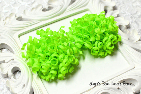 Key Lime Petite Korker Hair Bow Set