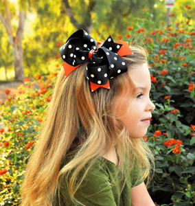 Halloween Party Hair Bow