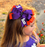 Extra Large Halloween Boo Bow