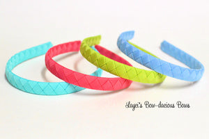 big girl headbands, woven headbands, woven ribbon headbands