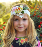 Sweet Sophia Tie Back Headband