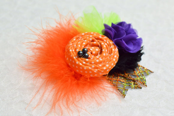 Wicked Cute Flower Hair Clip or Headband