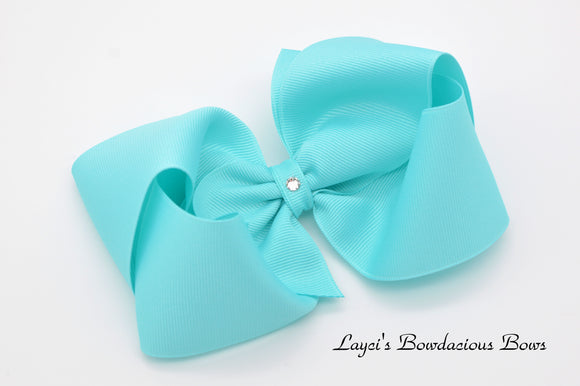 Deluxe Extra Large Boutique Hair Bows - 5 inch bow - Choose Your Colors - 5