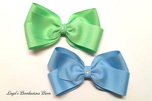 large classic bows, 5 inch bows
