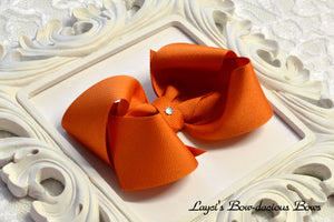 ginger boutique hair bow