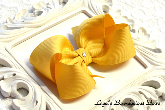 lemonade boutique hair bow