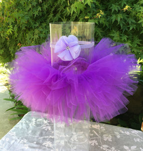 Purple Tutu with Headband
