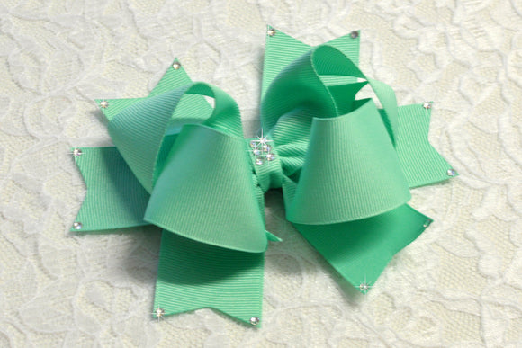 Large Lucite Party Hair Bow - Ready to Ship -B1