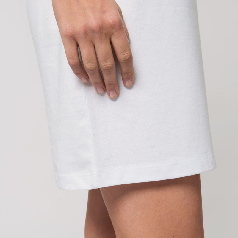 2 Sweet 2 Eat - White T-Shirt Dress