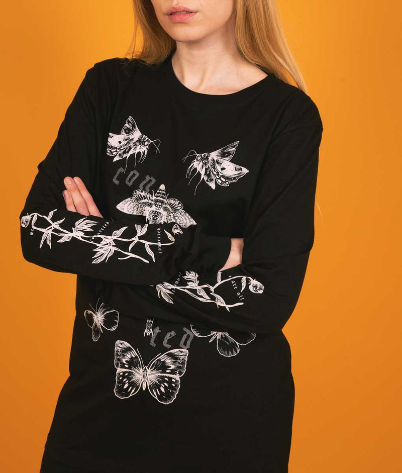 Connected - Long Sleeve - Black