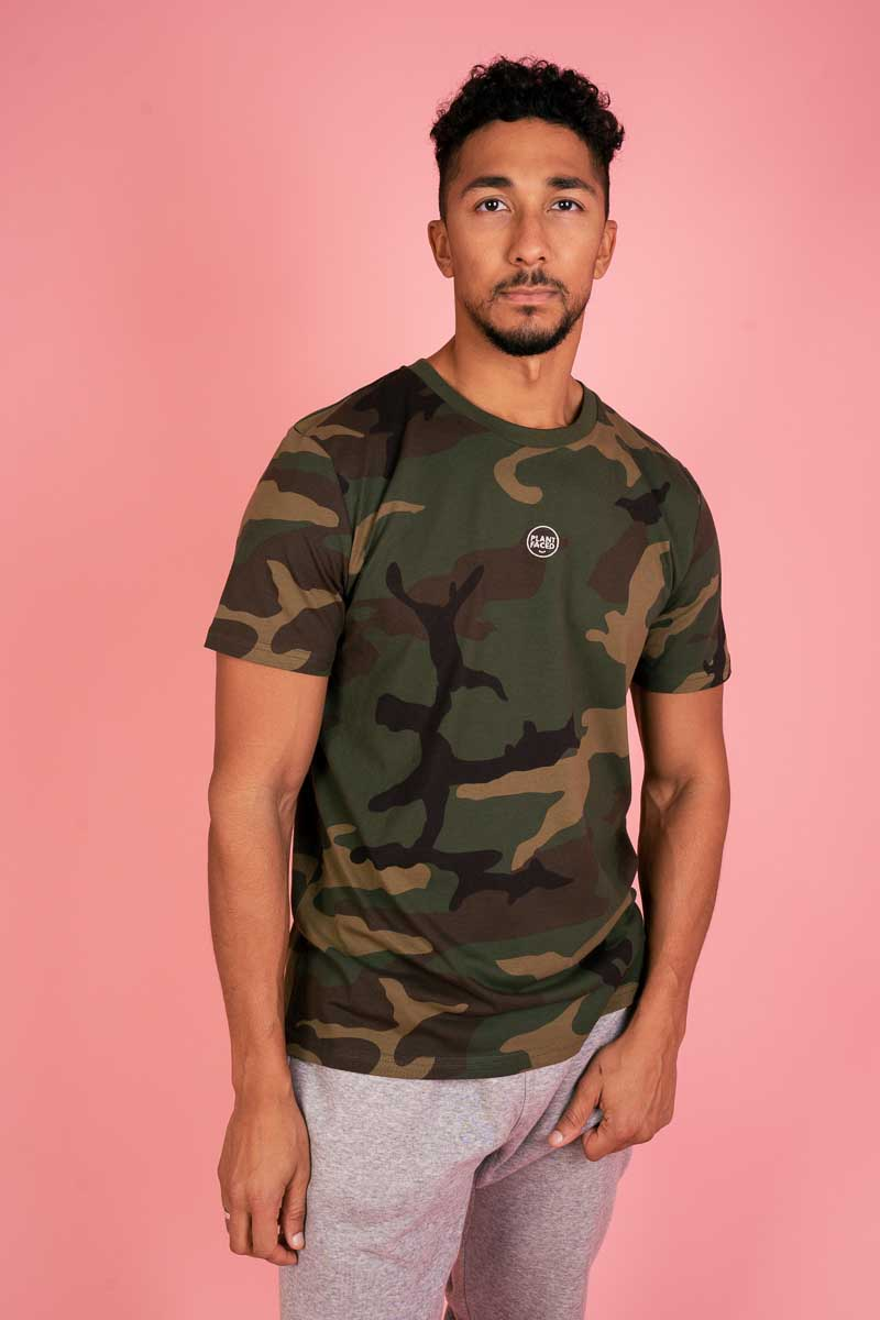 The Classics - Embroidered Logo Tee - Camo