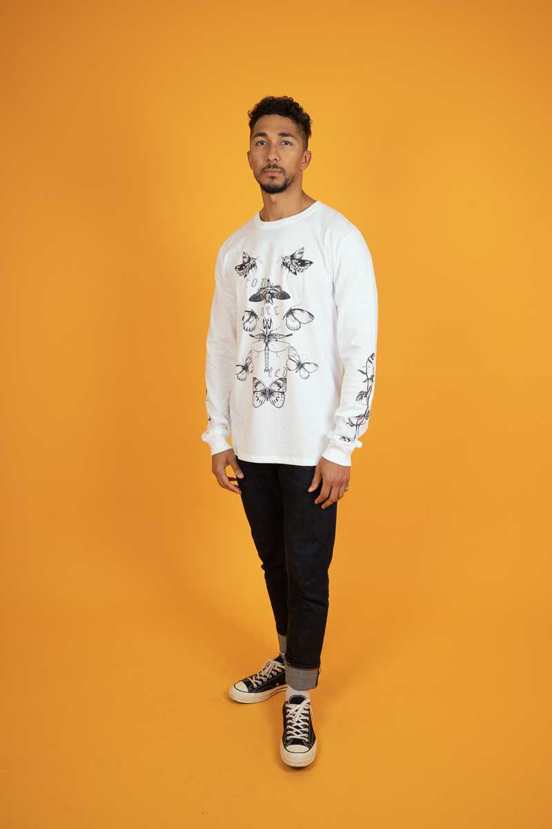 Connected - Long Sleeve - White
