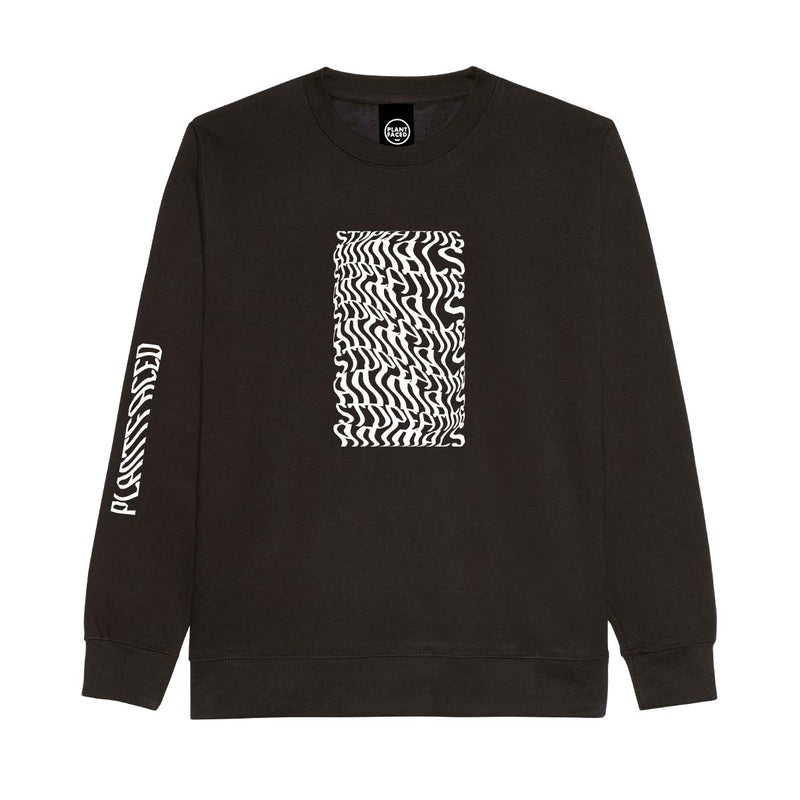 Illusions Sweater - Stop Eating Animals - Black