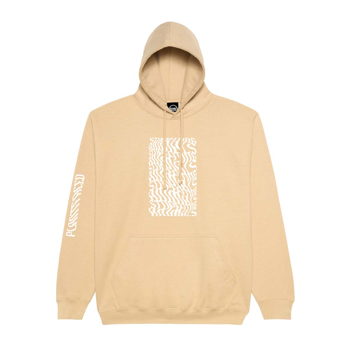 Illusions Hoodie - Stop Eating Animals - Earth Beige