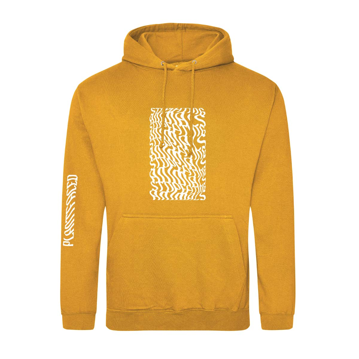Illusions Hoodie - Stop Eating Animals - Mustard Yellow