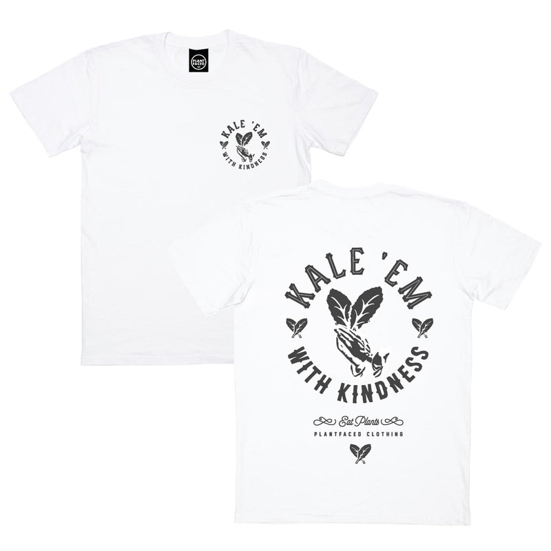Kale 'Em With Kindness - Black T-Shirt