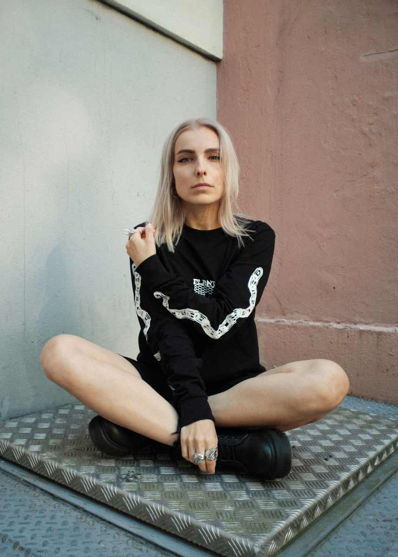 Make The Connection Long Sleeve - Black