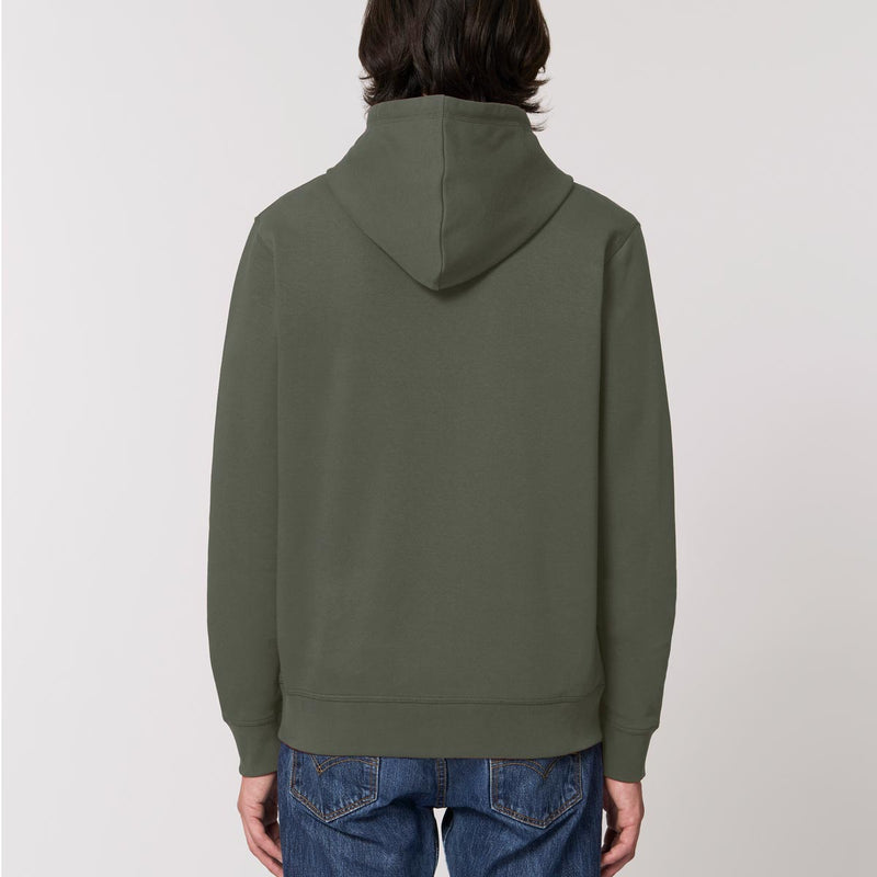 The Classics Hoodie - Embroidered Logo - Olive Green - ORGANIC X RECYCLED