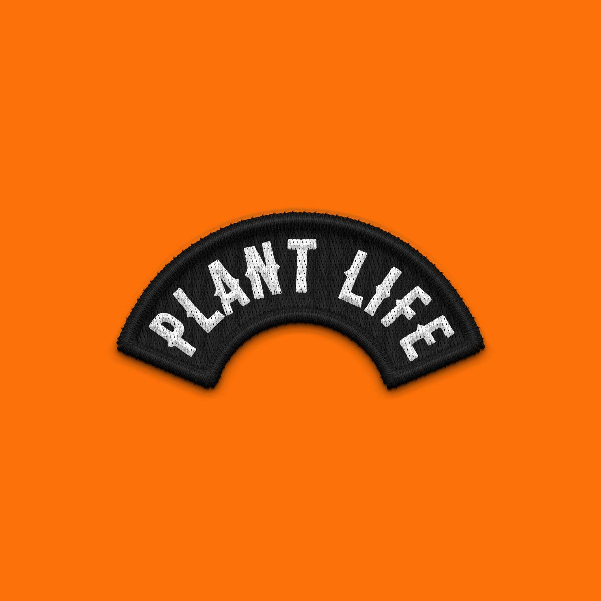 Plant Life 100% Recycled Woven Patch