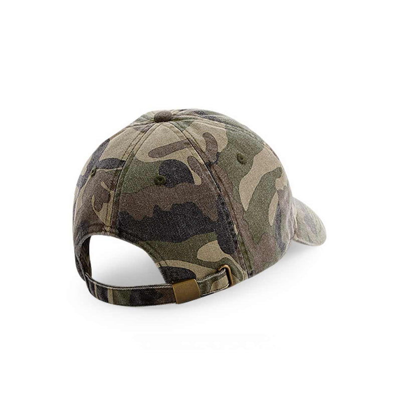 Plant Faced Dad Hat - Camouflage