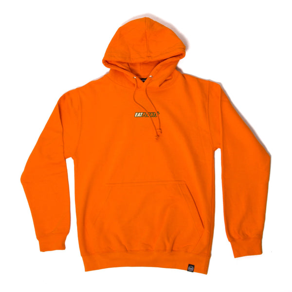 Eat Plants Hoodie - Alarm Orange