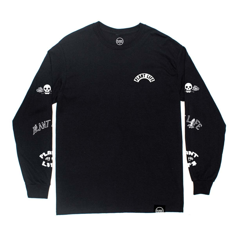 Plant Life Long Sleeve - Black