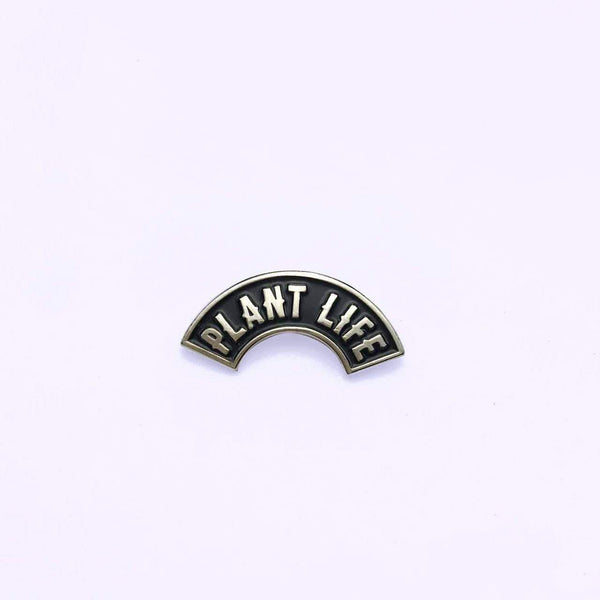 PLANT FACED CLOTHING: Pins - **SPECIAL ADD-ON PRICE** Plant Life Lapel Pin, Vegan Clothing