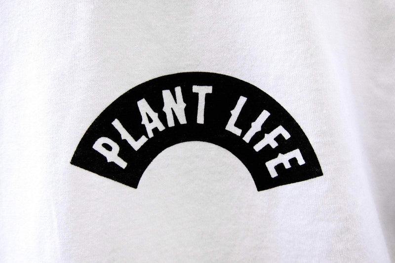 PLANT FACED CLOTHING: T-Shirts - Plant Life Classic - White - 100% Organic Cotton T-Shirt, Vegan Clothing