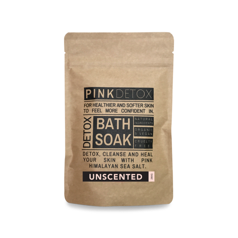 - Single Detox Bath - Unscented